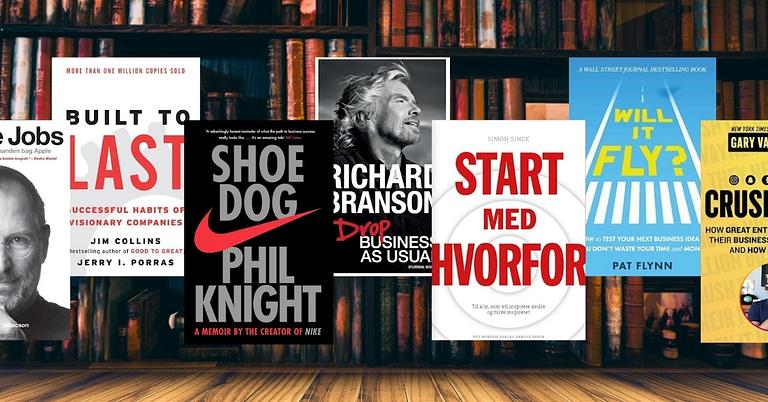 bøger for iværksættere